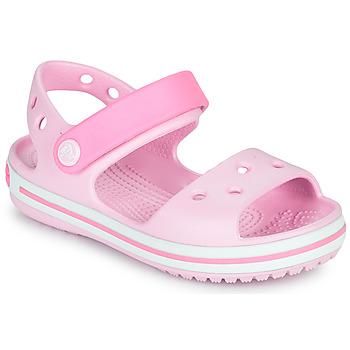 Cipők Lány Szandálok / Saruk Crocs CROCBAND SANDAL KIDS Rózsaszín