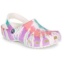 Cipők Női Klumpák Crocs CLASSIC TIE DYE GRAPHIC CLOG Sokszínű