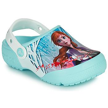 Cipők Lány Klumpák Crocs CROCSFL OL DISNEY Kék