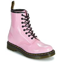 Cipők Női Csizmák Dr Martens 1460 W Rózsaszín