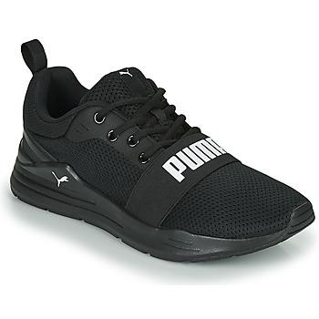 Cipők Férfi Rövid szárú edzőcipők Puma WIRED Fekete
