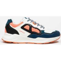 Cipők Női Rövid szárú edzőcipők Asfvlt Baskets Femme  Concrete blanc/bleu/corail