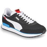 Cipők Férfi Rövid szárú edzőcipők Puma FUTURE RIDER PLAY ON Fekete  / Fehér