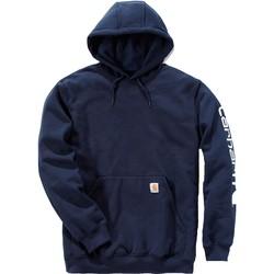 Ruhák Pulóverek Carhartt Sweatshirt à capuche  Logo bleu marine