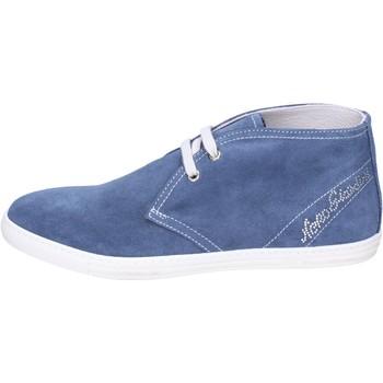 Cipők Lány Bokacsizmák NeroGiardini Bokacsizma BK487 Kék