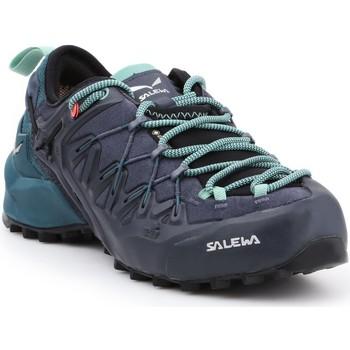 Cipők Női Túracipők Salewa WS Wildfire Edge GTX 61376-3838 czarny, zielony, granatowy