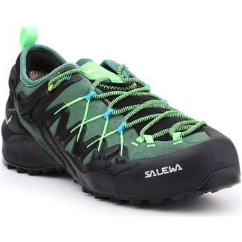 Cipők Férfi Túracipők Salewa MS Wildfire Edge GTX 61375-5949 czarny, zielony