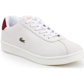 Cipők Férfi Rövid szárú edzőcipők Lacoste Masters Fehér