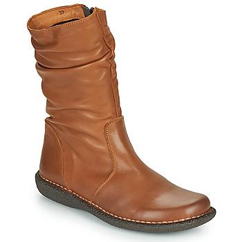 Cipők Női Csizmák Casual Attitude NIELOO Teve