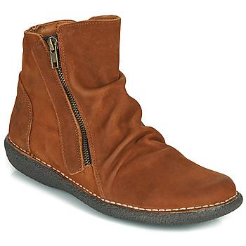 Cipők Női Csizmák Casual Attitude NELIOO Barna