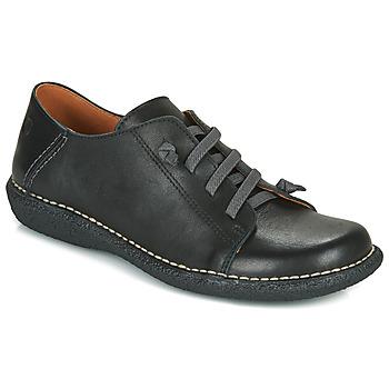 Cipők Női Oxford cipők Casual Attitude NIPITE Fekete