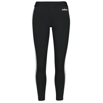 Ruhák Női Legging-ek adidas Originals W E 3S TIGHT Fekete  / Fehér