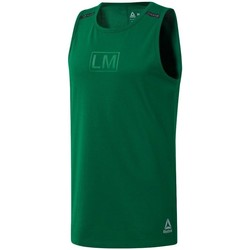 Ruhák Férfi Trikók / Ujjatlan pólók Reebok Sport Les Mills Performance Zöld