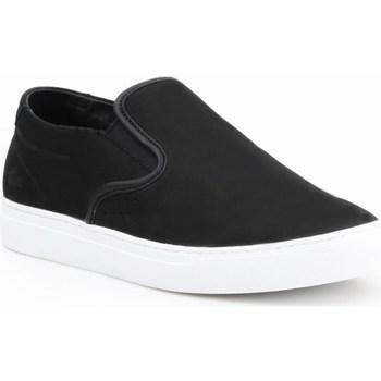 Cipők Férfi Belebújós cipők Lacoste Alliot Slipon Fekete