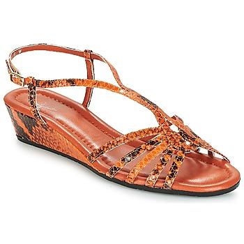 Cipők Női Szandálok / Saruk Amalfi by Rangoni NAMIBIAPRT Narancssárga