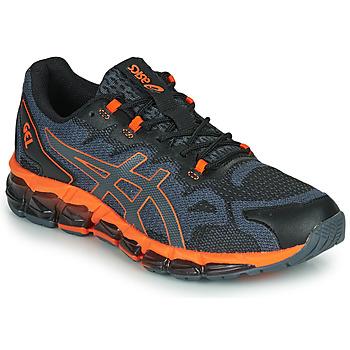 Cipők Férfi Rövid szárú edzőcipők Asics QUANTUM 360 6 Fekete  / Szürke / Narancssárga