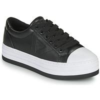 Cipők Női Rövid szárú edzőcipők Guess BRODEY3 Fekete