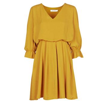 Ruhák Női Rövid ruhák Naf Naf  Citromsárga