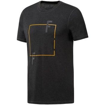 Ruhák Férfi Rövid ujjú pólók Reebok Sport Crossfit Move Tee Fekete