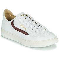 Cipők Férfi Rövid szárú edzőcipők Superdry BASKET LUX LOW TRAINER Fehér