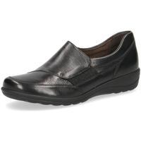 Cipők Női Mokkaszínek Caprice Casual Closed Flats Black Black