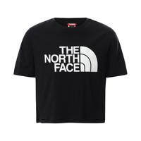 Ruhák Lány Rövid ujjú pólók The North Face EASY CROPPED TEE Fekete