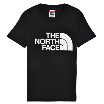 Ruhák Fiú Rövid ujjú pólók The North Face EASY TEE Fekete
