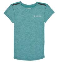 Ruhák Lány Rövid ujjú pólók Columbia TECH TREK Zöld