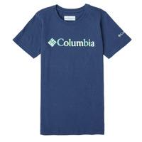 Ruhák Lány Rövid ujjú pólók Columbia SWEET PINES GRAPHIC Tengerész