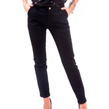 Ruhák Női Chino nadrágok / Carrot nadrágok Fracomina F120W10050W02401 Fekete