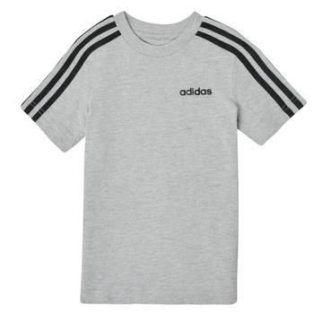Ruhák Fiú Rövid ujjú pólók adidas Performance YB E 3S TEE Szürke