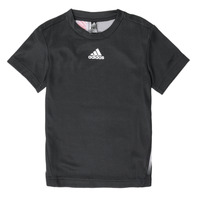 Ruhák Fiú Rövid ujjú pólók adidas Performance B A.R. TEE Fekete
