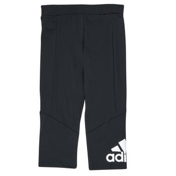 Ruhák Lány Legging-ek adidas Performance G BL 34 TIG Fekete