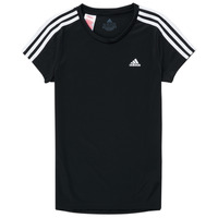 Ruhák Lány Rövid ujjú pólók adidas Performance G 3S T Fekete