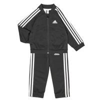 Ruhák Gyerek Együttes adidas Performance 3S TS TRIC Fekete