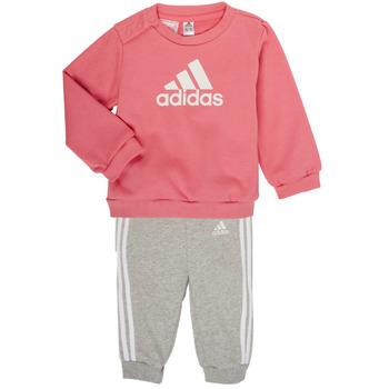 Ruhák Lány Együttes adidas Performance BOS JOG FT Rózsaszín