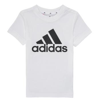Ruhák Fiú Rövid ujjú pólók adidas Performance B BL T Fehér