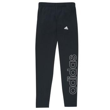 Ruhák Lány Legging-ek adidas Performance G LIN LEG Fekete