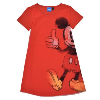 Ruhák Lány Rövid ruhák Desigual 21SGVK41-3036 Piros
