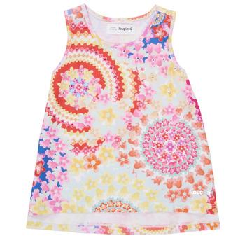 Ruhák Lány Trikók / Ujjatlan pólók Desigual 21SGCW02-3146 Sokszínű