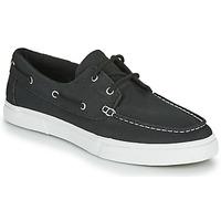 Cipők Férfi Vitorlás cipők Timberland UNIONWHARF2.0EK+ 2EYEBOAT Fekete