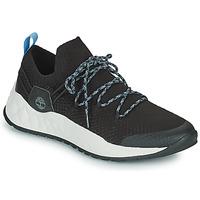 Cipők Férfi Rövid szárú edzőcipők Timberland SOLAR WAVE LOW KNIT Fekete