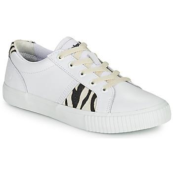 Cipők Női Rövid szárú edzőcipők Timberland SKYLA BAY OXFORD Fehér
