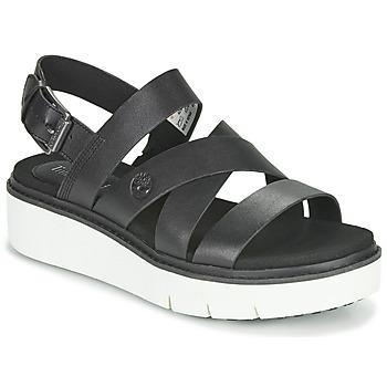 Cipők Női Szandálok / Saruk Timberland SAFARI DAWN FRONT STRAP Fekete