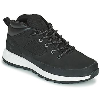 Cipők Férfi Rövid szárú edzőcipők Timberland SPRINT TREKKER SUPER OX Fekete