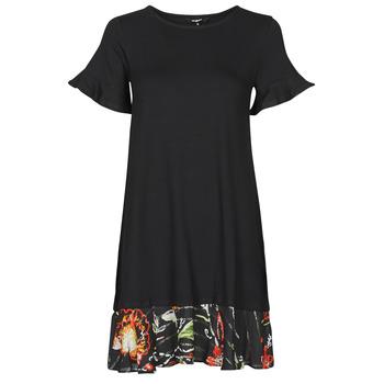 Ruhák Női Rövid ruhák Desigual KALI Fekete