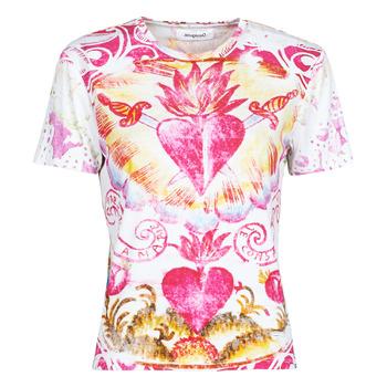 Ruhák Női Rövid ujjú pólók Desigual TATTOO Sokszínű