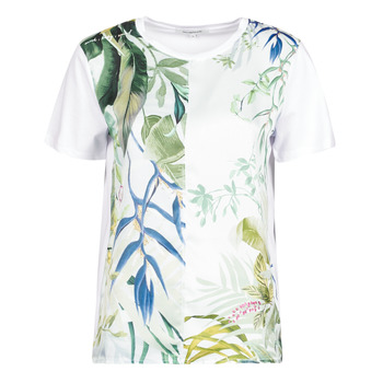 Ruhák Női Rövid ujjú pólók Desigual BUDAPEST Fehér