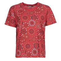 Ruhák Női Rövid ujjú pólók Desigual LYON Piros