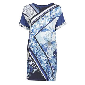 Ruhák Női Rövid ruhák Desigual SOLIMAR Kék